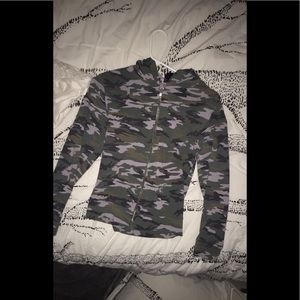 Other - crop army jacket